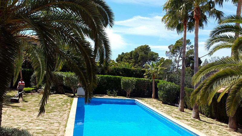 Mantenimiento de piscinas en mallorca podas y jardines - Piscinas en palma de mallorca ...